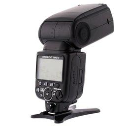 Venta caliente Meike MK910 i-TTL HSS Master Flash Speedlite para Nikon SB900 D810 D800 D5300 D7000 D5200 D3200 D5100 D3000 D3100 desde meike flash de la cámara proveedores