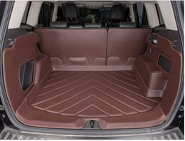 Wholesale Good quality Special car trunk mats for Ford Escape durable Easy to clean waterproof luggage carpets for Kuga