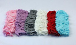 children girl solid color wrinkle Leg Warmer infant 2015 new fashion cotton legwarmer leggings child socks Tights 12pairs lot free ship