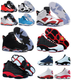 Wholesale Air Retro authentic cheap Carmine infrared bred man basketball shoes Oreo sports shoes online hot sale us