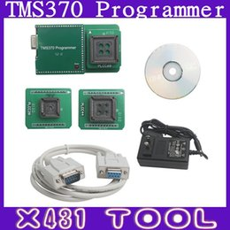 Wholesale High Quality TMS370 Programmer To Program The TI TMS Microcontroller EEPROM Car Radio Decoding Odometer Adjusting IMMO Pin Code Read