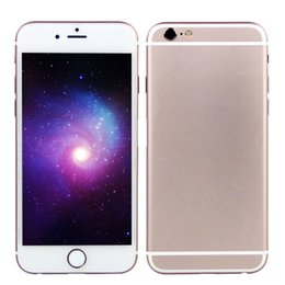 Wholesale 4 inch Goophone i6s V5 G LTE Fingerprint Scanner Octa Core MTK6795 GB GB GB Android Touch ID GPS WiFi MP Camera FM Smartphone