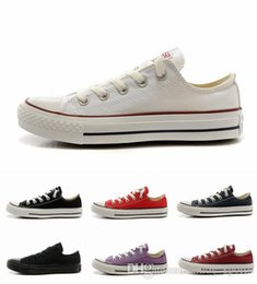 Wholesale 2015 Fashion s Running Shoes For Women Men Classical Low All Star Canvas Casual shoes Sneakers Eur