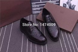 Wholesale Luxury Brand Designer Best Quality Men New Style Oxford woven Shoes Formal Genuine Leather Business Shoes Men Wedding Shoes