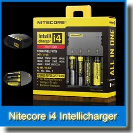 Wholesale Nitecore i4 Universal Charger Nitecore Intellichargeri4 Li ion Ni MH Cd Battery Charger