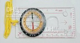 Wholesale Baseplate Ruler Map Scale Compass Scouts Camping Hiking school student stationary