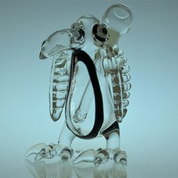 Wholesale Newest Eagle Glass Oil Rigs Dab rigs with perfect crafts Glass bongs with mm joint