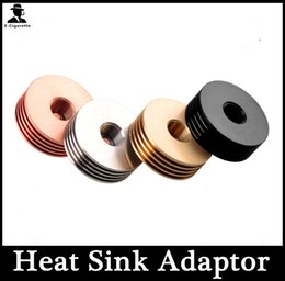 Wholesale 510 Atomizer Adapter Heat Sink Adaptor Thread Bottom attached Connect Fit RDA Atomizer Rebuildable Atomizers E Cigarette