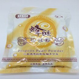 Wholesale g Oz Bee Propolis Extract Pearl Powder Honey Facial Beauty Mask Powder for Skin Care