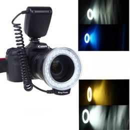 Wholesale Digital Camera Accessory RF D Macro LED Ring Flash Light for Canon Nikon Pentax Olympus Panasonic DSLR