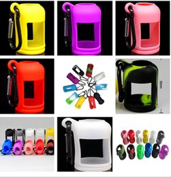 Colorful Eliquid Bottles silicone Cover Soft Pouch Silicone Protective Case 15ml 30ml optional oil Rubber Sleeve Cover