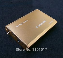 Wholesale Portable Audio Video Headphone Amplifier HIFI EXQUIS YEK PCM2706 DAC TDA1305 decoder amp Notebook PC USB sound card headphone amplifier