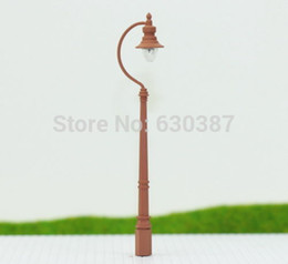 Wholesale LQS04 Model Railway Train Antique Lamp Post Street Light HO OO TT Scale NEW