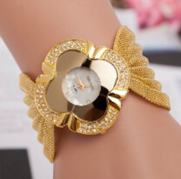 Wholesale 2015Top sales gold watches prices fashion fanshaped wristwatches buy direct from china factory fashion lady dress watches