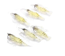 20Pcs Soft Shrimp Fishing Lure Baits for Bream Bass Flathead Whiting Snapper Fake Lure AE01571 order<$18no track