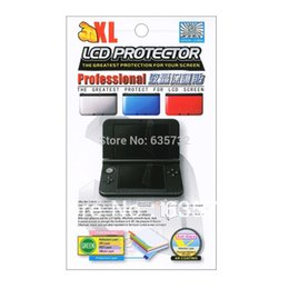 Wholesale-LCD Screen Protection Protector Clear Shield Film Guard for Nintendo for 3DS XL