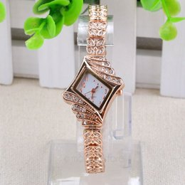 Wholesale Gold Plated Watches Set auger watches Elegant Women wristwatches For Women ZMPJ405