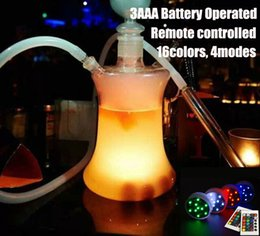 2015 new Factory directly sell wholesale multi colors hookah shisha accessories Led Light base with remote control