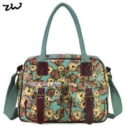Wholesale Floral Shoulder Bag New Fashion Famous Designers Brand Boston Bags With Clocks For Women QQ1982