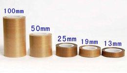 Wholesale New PTFE Teflon Adhesive Tape Nonstick Heat Sealer Impulse Sealer mm m mm