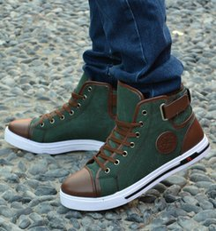 Wholesale Chaussures d hiver Chaussures Chaussures Hommes Sneakers avec la fourrure Hommes Sneakers British Casual chaussures de toile