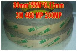 Wholesale mm M mm mils M MP MP Adhesive Heat Resist Transparent Film Double Sided Sticky for Device Control Panel