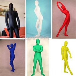 2016 New FA Multi-Function Full Body Spandex Cosplay Clothes Skin Suit Catsuit Halloween Zentai Costumes S-XL