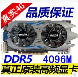 Wholesale New GTX G MB Video Card Bit DDR5 Directx Graphic Card for Games VGA DVI HDMI PK ti gtx650
