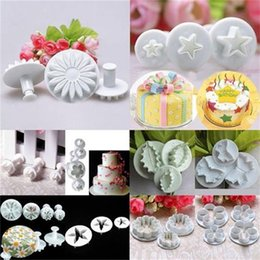 Wholesale 1 set of Delicious Fondant Cake Decorating Modelling Tools Set DIY Sugarcraft Cake Decorating Fondant Cutters Tools Set HOA_834