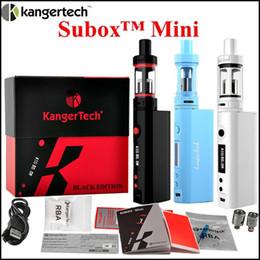 Kangertech Subox mini starter kit 50W mod subtank mini tank Kbox 50W mod subtank kangertech starter kit vs Topbox