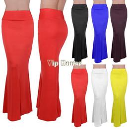 Dropping Shipping New Arrival Summer Full Long Maxi Skirt Puff Beach Skirts High Waist Elastic Waistband 100cm B26 SV001497