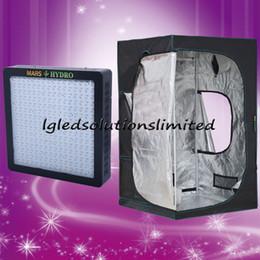 Wholesale Marshydro hydroponic W LED grow light Mylar D Grow tent x x stock in USA UK Canada Germany Australia Russia
