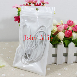 Useful Package bag Size 10*18cm,Clear+Pearl White Plastic bag,Pearl Zip bag film Plastic bag,Polybag,Package for Gifts Free shipping