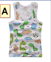 Wholesale Kids clothing Baby tank tops vests for kids vests for grils vests for boys kids clothes Summer New Best Sale