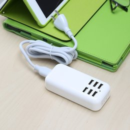 6 port USB switch Charger USB charger with no more than 4 intelligent portable travel charger