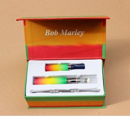 Wholesale 2015 Newest Snoop Dogg Bob Marley dry herb vaporizer starter kit Herbal vaporizer VS electronic cigarette ago g5 vape kits via DHL