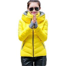 2016 Winter Wear Women Jackets Women Parkas Thicken Candy Color Women Coats Free shipping