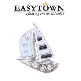 Wholesale Top quality new sailing new floating locket charm fits lockets for women jewelry