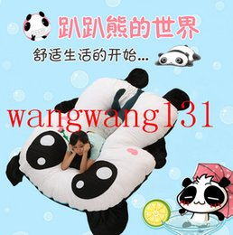 Wholesale 2015 Hot Tatami bed Animated cartoon lazy lie prone on the panda mattress sofa The panda plush toys My neighbor totoro mattress