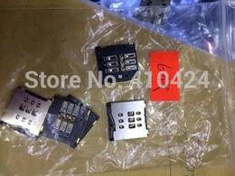 Wholesale Original New SIM Card Reader Holder Tray Slot For iphone Plue SIM card reader socket