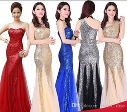 5162# newest Long Evening dress spandex paillette woman gowns dinner dress