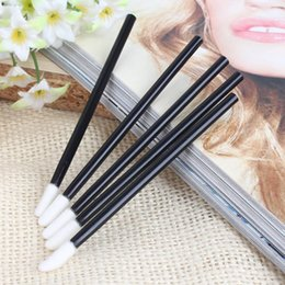 Wholesale Womens Disposable Lip Brush Gloss Wands Applicator Perfect Best Makeup Brushes Make Up Tools