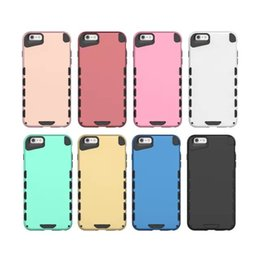 Rebajas nexo plástico Hybrid Armour TPU Funda trasera para iphone 6 6S Plus 5S Galaxy S6 borde Nota 5 A8 Nexus 5X