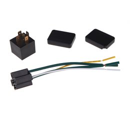 Wholesale 12V Car Anti theft Lock Device System Electronic Lock Relay Control On Fuel Pump RF Identity Cards Easy Installation