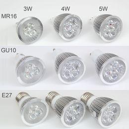 3W Dimmable LED Bulb 4W Bulb 5W LED Bulb Light GU10 MR16 E27 E14 B22 LED Spotlights CREE LED Lights 3x1W Energy-saving Bulb Led Light Bulb