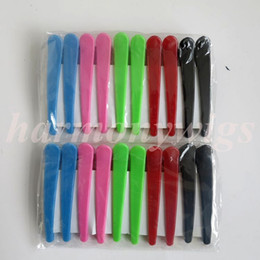 Professional Hair Pins hair section clips human hair extension tools for clip hair extensions 10pcs lot