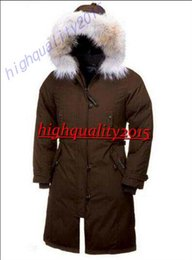 Wholesale Women outdoor down jacket winter thick warm windproof goose down coat fur collar Parka outdoor against low temperature