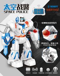 Beauty to twenty-eight thirty-nine intelligent robot Space man machine talent Remote control to dance Child toy robot