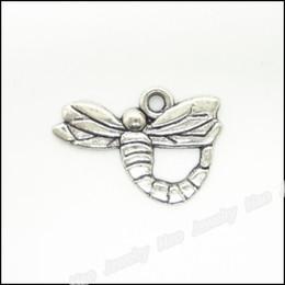 Charms Antique Plated Silver Zinc Alloy Dragonfly Pendant Fit Bracelet Necklace DIY Jewelry 150pcs
