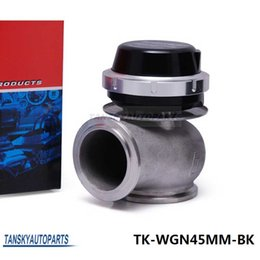Wholesale Tansky High Quality New Turbo Wastegate Waste Gate MM For Universal Have In Stock TK WGN45MM BK PSI